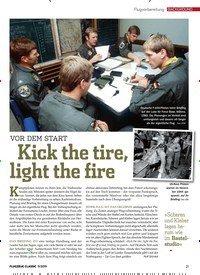 Titelbild der Ausgabe 11/2019 von Flugvorbereitung BACKGROUND: Kick the tire, light the fire. Zeitschriften als Abo oder epaper bei United Kiosk online kaufen.