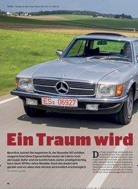 Titelbild der Ausgabe 2/2020 von TITEL…Vergleich Mercedes-Benz 280 SLC vs. 450 SL: Ein Traum wird bezahlbar. Zeitschriften als Abo oder epaper bei United Kiosk online kaufen.