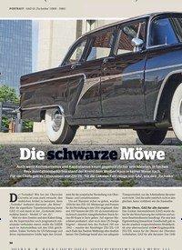 """Titelbild der Ausgabe 2/2020 von PORTRAIT: GAZ-13 """"Tschaika"""" (1959 - 1981): Die schwarze Möwe. Zeitschriften als Abo oder epaper bei United Kiosk online kaufen."""