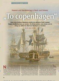 """Titelbild der Ausgabe 1/2020 von Kaperei und Handelskrieg in Nord- und Ostsee: """"To copenhagen"""". Zeitschriften als Abo oder epaper bei United Kiosk online kaufen."""