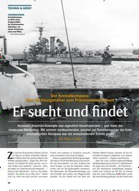Titelbild der Ausgabe 3/2020 von Der Kreiselkompass: Vom Richtungshalter zum Präzisionsinstrument: Er sucht und findet. Zeitschriften als Abo oder epaper bei United Kiosk online kaufen.