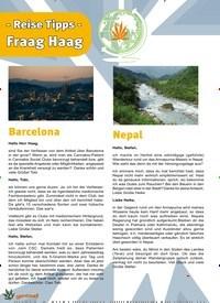 Titelbild der Ausgabe 6/2019 von - Reise Tipps - Fraag Haag. Zeitschriften als Abo oder epaper bei United Kiosk online kaufen.