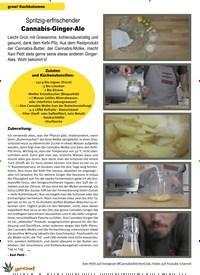 Titelbild der Ausgabe 6/2019 von Spritzig-erfrischender Cannabis-Ginger-Ale. Zeitschriften als Abo oder epaper bei United Kiosk online kaufen.