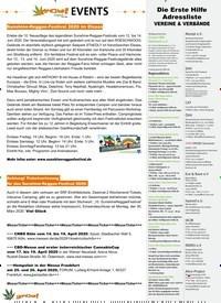 Titelbild der Ausgabe 2/2020 von EVENTS. Zeitschriften als Abo oder epaper bei United Kiosk online kaufen.