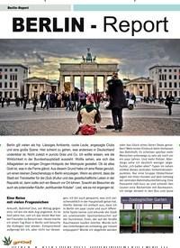 Titelbild der Ausgabe 2/2020 von BERLIN - Report. Zeitschriften als Abo oder epaper bei United Kiosk online kaufen.