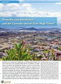 """Titelbild der Ausgabe 2/2020 von grow! Travel: Teneriffa, Los Christianos und der Cannabis Social Club """"High Times"""". Zeitschriften als Abo oder epaper bei United Kiosk online kaufen."""