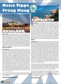 Titelbild der Ausgabe 3/2020 von 22 Reise Tipps Fraag Haag. Zeitschriften als Abo oder epaper bei United Kiosk online kaufen.