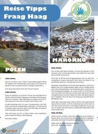 Titelbild der Ausgabe 4/2020 von 20 Reise Tipps Fraag Haag. Zeitschriften als Abo oder epaper bei United Kiosk online kaufen.