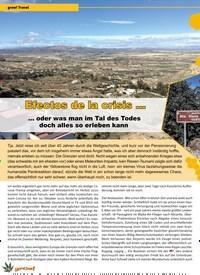 Titelbild der Ausgabe 1/2021 von grow! Travel: Efectos de la crisis …. Zeitschriften als Abo oder epaper bei United Kiosk online kaufen.