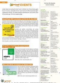 Titelbild der Ausgabe 2/2021 von EVENTS. Zeitschriften als Abo oder epaper bei United Kiosk online kaufen.