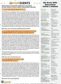 Titelbild der Ausgabe 1/2020 von EVENTS. Zeitschriften als Abo oder epaper bei United Kiosk online kaufen.
