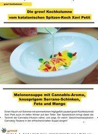 Titelbild der Ausgabe 1/2020 von grow! Kochkolumne: Die grow! Kochkolumne vom katalanischen Spitzen-Koch Xavi Petit. Zeitschriften als Abo oder epaper bei United Kiosk online kaufen.