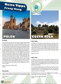 Titelbild der Ausgabe 2/2021 von 20 Reise Tipps Fraag Haag. Zeitschriften als Abo oder epaper bei United Kiosk online kaufen.