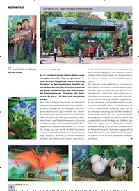 Titelbild der Ausgabe 10/2019 von NEUHEITEN: WORLD OF THE LIVING DINOSAURS. Zeitschriften als Abo oder epaper bei United Kiosk online kaufen.