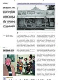 Titelbild der Ausgabe 10/2019 von ARCHIV: ORIGINAL KASPERL-THEATER NENNINGER. Zeitschriften als Abo oder epaper bei United Kiosk online kaufen.
