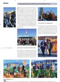 Titelbild der Ausgabe 11/2019 von AKTUELL: PRESSERUNDGANG MÜNCHNER OKTOBERFEST 2019. Zeitschriften als Abo oder epaper bei United Kiosk online kaufen.