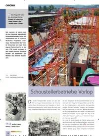 Titelbild der Ausgabe 12/2019 von CHRONIK: SCHAUSTELLERBETRIEBE VORLOP. Zeitschriften als Abo oder epaper bei United Kiosk online kaufen.