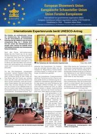 Titelbild der Ausgabe 1/2020 von Internationale Expertenrunde berät UNESCO-Antrag. Zeitschriften als Abo oder epaper bei United Kiosk online kaufen.