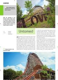 Titelbild der Ausgabe 9/2019 von COASTER: Untamed. Zeitschriften als Abo oder epaper bei United Kiosk online kaufen.