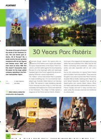 Titelbild der Ausgabe 10/2019 von PORTRAIT: 30 Years Parc Astérix. Zeitschriften als Abo oder epaper bei United Kiosk online kaufen.
