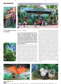 Titelbild der Ausgabe 10/2019 von NEW PRODUCTS: WORLD OF THE LIVING DINOSAURS. Zeitschriften als Abo oder epaper bei United Kiosk online kaufen.