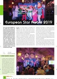 Titelbild der Ausgabe 11/2019 von European Star Award 2019. Zeitschriften als Abo oder epaper bei United Kiosk online kaufen.