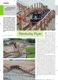 Titelbild der Ausgabe 11/2019 von COASTER: Kentucky Flyer. Zeitschriften als Abo oder epaper bei United Kiosk online kaufen.