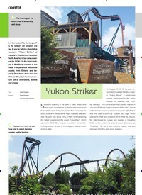 Titelbild der Ausgabe 11/2019 von COASTER: Yukon Striker. Zeitschriften als Abo oder epaper bei United Kiosk online kaufen.
