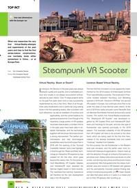 Titelbild der Ausgabe 1/2020 von TOP ACT: Steampunk VR Scooter. Zeitschriften als Abo oder epaper bei United Kiosk online kaufen.