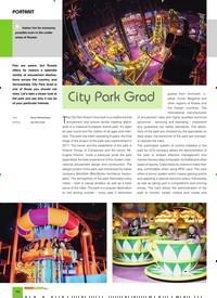 Titelbild der Ausgabe 3/2020 von PORTRAIT: City Park Grad. Zeitschriften als Abo oder epaper bei United Kiosk online kaufen.