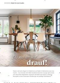 Titelbild der Ausgabe 8/2020 von WOHNIDEEN Böden für innen & außen: Da stehen wirdrauf!. Zeitschriften als Abo oder epaper bei United Kiosk online kaufen.