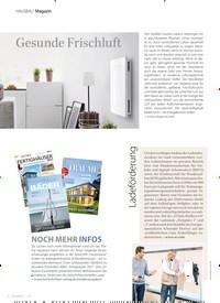 Titelbild der Ausgabe 1/2021 von Magazin: Gesunde Frischluft. Zeitschriften als Abo oder epaper bei United Kiosk online kaufen.