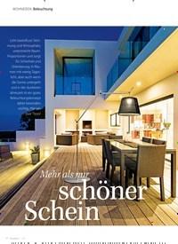 Titelbild der Ausgabe 1/2021 von Mehr als nur schöner Schein. Zeitschriften als Abo oder epaper bei United Kiosk online kaufen.