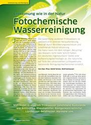 Titelbild der Ausgabe 39/2019 von Entkeimung wie in der Natur: Fotochemische Wasserreinigung. Zeitschriften als Abo oder epaper bei United Kiosk online kaufen.