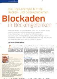 Titelbild der Ausgabe 41/2020 von Blockaden in Beckengelenken. Zeitschriften als Abo oder epaper bei United Kiosk online kaufen.