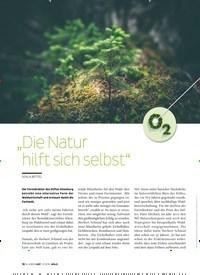 """Titelbild der Ausgabe 3/2019 von """" Die Natur hilft sich selbst"""". Zeitschriften als Abo oder epaper bei United Kiosk online kaufen."""