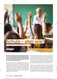 Titelbild der Ausgabe 5/2019 von Schule – aber wie? SO WERDEN KINDER ZUKUNFTSFIT. Zeitschriften als Abo oder epaper bei United Kiosk online kaufen.