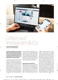 Titelbild der Ausgabe 5/2019 von Leben auf Instagram & Co. Zeitschriften als Abo oder epaper bei United Kiosk online kaufen.