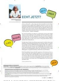 Titelbild der Ausgabe 1/2020 von ECHT JETZT?. Zeitschriften als Abo oder epaper bei United Kiosk online kaufen.