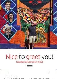 Titelbild der Ausgabe 1/2020 von Nice to greet you! Perspektivenwechsel im Urlaub. Zeitschriften als Abo oder epaper bei United Kiosk online kaufen.