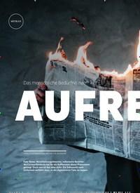 Titelbild der Ausgabe 4/2020 von Das menschliche Bedürfnis nach: AUFREGUNG. Zeitschriften als Abo oder epaper bei United Kiosk online kaufen.