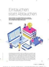 Titelbild der Ausgabe 4/2020 von Eintauchen statt Abtauchen. Zeitschriften als Abo oder epaper bei United Kiosk online kaufen.
