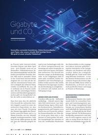 Titelbild der Ausgabe 4/2020 von Gigabyte und CO2. Zeitschriften als Abo oder epaper bei United Kiosk online kaufen.