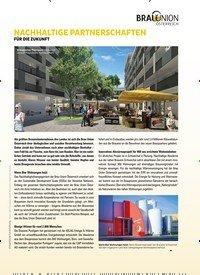 Titelbild der Ausgabe 3/2019 von NACHHALTIGE PARTNERSCHAFTEN: FÜR DIE ZUKUNFT. Zeitschriften als Abo oder epaper bei United Kiosk online kaufen.