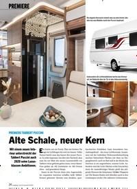 Titelbild der Ausgabe 8/2019 von PREMIERE: PREMIERE TABBERT PUCCINI Alte Schale, neuer Kern. Zeitschriften als Abo oder epaper bei United Kiosk online kaufen.