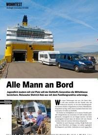 Titelbild der Ausgabe 9/2019 von WOHNTEST: Dethleffs Generation 515 QSK: Alle Mann an Bord. Zeitschriften als Abo oder epaper bei United Kiosk online kaufen.