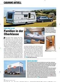 Titelbild der Ausgabe 11/2019 von CARAVANS AKTUELL: FENDT OPAL 515 SKF: Familien in der Oberklasse. Zeitschriften als Abo oder epaper bei United Kiosk online kaufen.