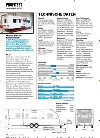 Titelbild der Ausgabe 2/2020 von PROFITEST:Sprite Cruzer 635 SR: TECHNISCHE DATEN. Zeitschriften als Abo oder epaper bei United Kiosk online kaufen.
