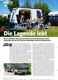 Titelbild der Ausgabe 4/2020 von WOHNTEST: Alpenkreuzer Parade: Die Legende lebt. Zeitschriften als Abo oder epaper bei United Kiosk online kaufen.