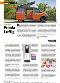 Titelbild der Ausgabe 8/2019 von KOMPAKTE Camper: PREMIERE FLOWCAMPER Frieda Luftig. Zeitschriften als Abo oder epaper bei United Kiosk online kaufen.